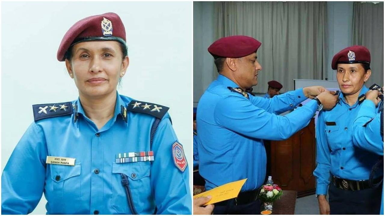 एसपी गंगा पन्त : सफल प्रहरी अधिकृत महिला