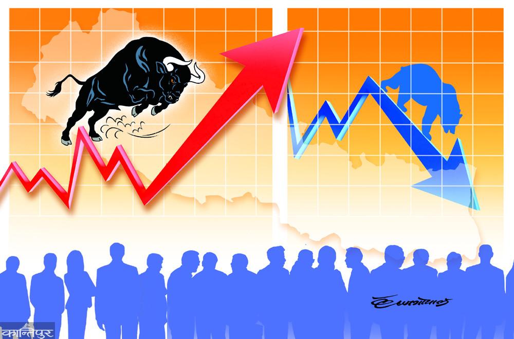 नेप्से ७५ अंकले बढ्यो, कारोबार रकममा पनि सुधार